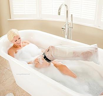 LimbO Waterproof Cast and Wound Protector Half Leg (Slim - Short)