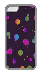 Artwork background Custom iPhone 5C Case Cover TPU Transparent
