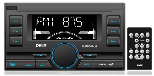 Pyle PLRDD19UB Bluetooth Receiver Double DIN