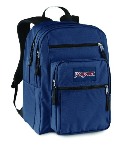 JanSport Big Student Backpack- Sale Colors (Navy Moonshine) by JanSport