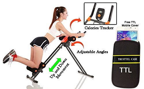 Abdominal+Machine Products : Ad Corp Ab Vertical 5 Minute Shaper Fitness Equipment Vertical Abdomen Abdominal Ab Abdomen Machine Ab Coaster Round Waist Trainer Power Plank