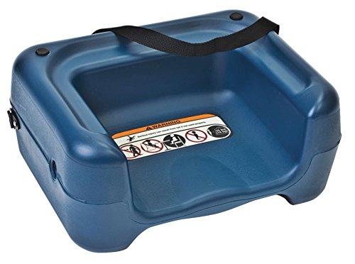 Koala Kare KB855-04S Restaurant Booster Seat with Strap, Blue, 30
