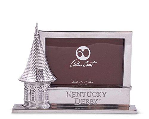 Arthur Court Designs Aluminum 4x6 Kentucky Derby Spire Frame (Kentucky Derby Picture)