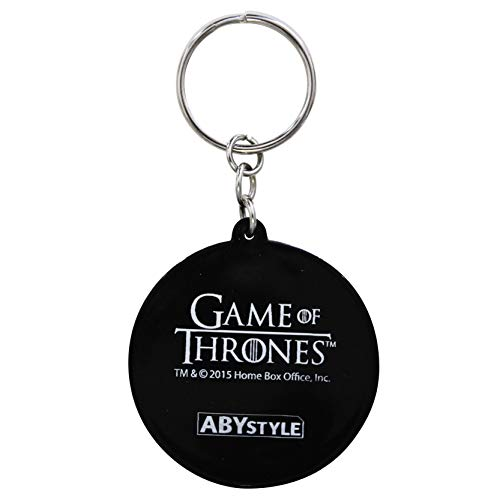 Targaryen Of Abystyle Pvc Thrones Keychain Game qHqSPAt