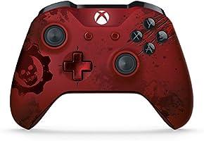 Microsoft Game Studios Control Inalámbrico para Xbox One - Edición Limitada - Gears of War 4 Crimson Omen - Collector's Limited Edition