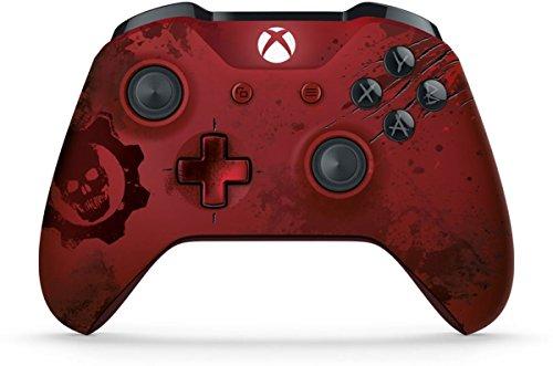Microsoft WL3-00001 - Xbox One Gears of War 4 Crimson Omen Limited Edition Wireless Controller (Renewed)