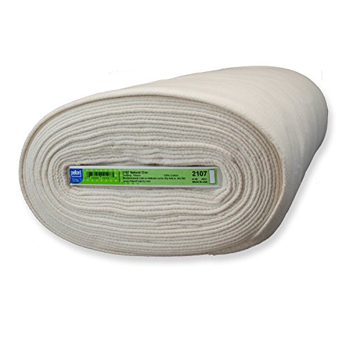 Pellon #2107 Natural One Cotton Batting 45'' X 10 yards by Pellon