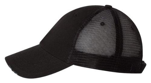 Organic Cotton Cap (Mega Cap Organic Cotton/Mesh Cap - Black)