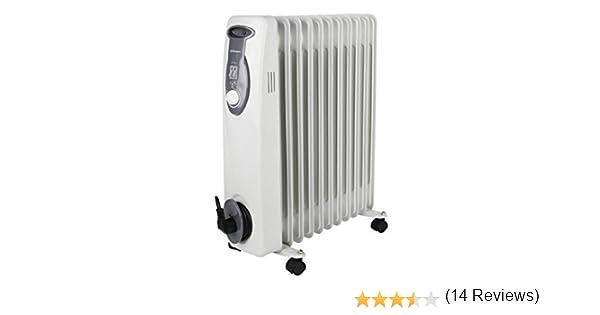 Orbegozo RA2500 - Radiador de aceite, 2500 W, 11 elementos ...