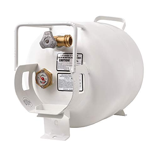 Flame King YSN201HZL Steel Propane Tank Cylinder for, 20 LB Horizontal
