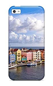 Evelyn C. Wingfield's Shop 4787113K73674263 New Style Tpu 5c Protective Case Cover/ Iphone Case - Curacao From Above
