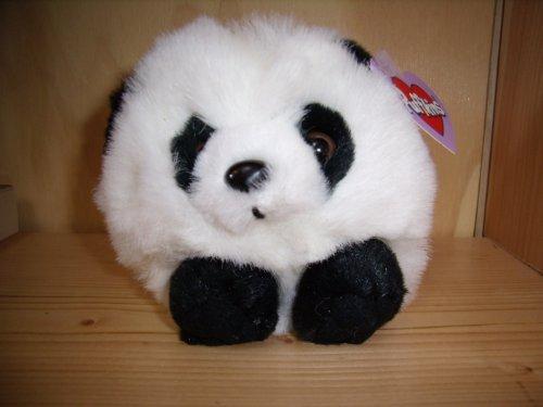 "Puffkins Plush 5"" Peter Panda Beanbag"