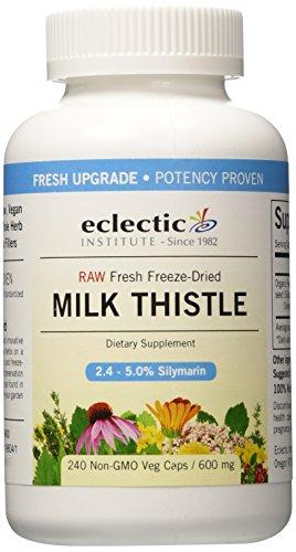 Institución ecléctica leche Thistle 600Mg 240 Caps