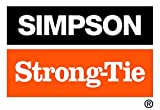 Simpson Strong Tie RFB#5X10HDG Simpson Strong-Tie Hot-Dip Galvanized Retrofit Bolts 5/8-inch by 10-inch 25 per Carton