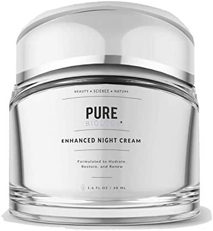 Premium Night Cream Moisturizer for Face & Neck with Retinol, Hyaluronic Acid & Breakthrough Anti Aging, Anti Wrinkle Firming Complexes – Collagen Boosting Retinol Cream Skin Care for Men & Women
