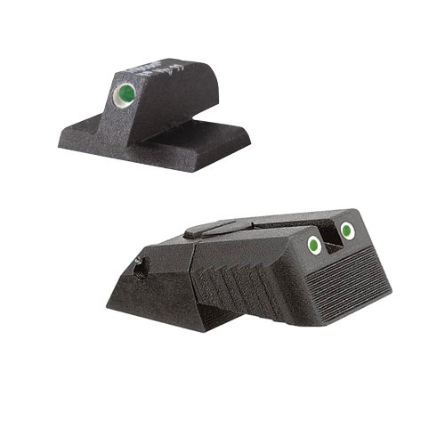 Kensight DAS 1911 Defense Adjustable Rear Sight Set Tritium insert - Night Sights Serrated Blade - 0.200'' Front Sight by Kensight