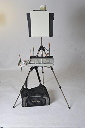 Advanced Series En Plein Air Pro Oil & Acrylic Easel Package with Sliding Shelf