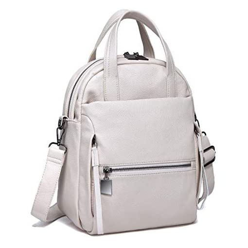 Crossbody Bag for Women KASGO Vegan Handbag for Ladies Faux Leather Casual Top