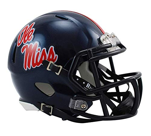 NCAA Mississippi Rebels Speed Mini Helmet