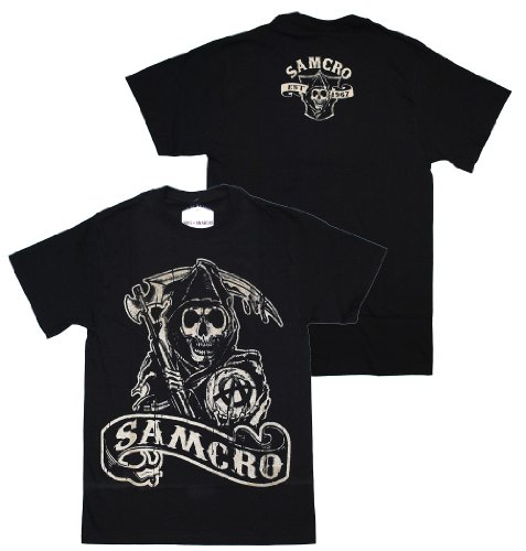 Sons Of Anarchy - Samcro 9 Banner T-Shirt
