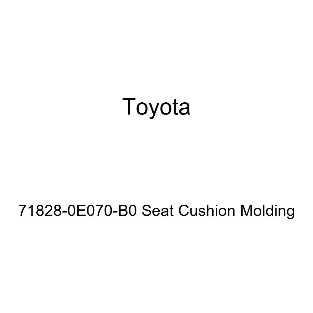 TOYOTA Genuine 71828-0E070-B0 Seat Cushion Molding