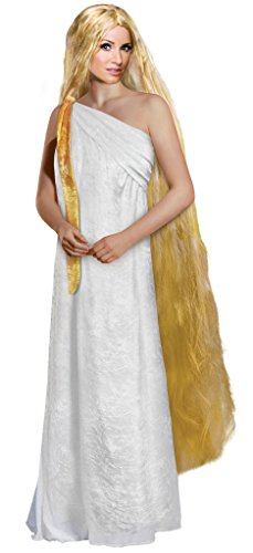 Lady Godiva Plus Size Supersize Halloween Costume Deluxe Wig Kit 7x