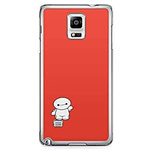 Loud Universe Cute Big Brother Red and White Samsung Note 4 Case Cute Kawai Cartoon Samsung Note 4 Cover with Transparent Edges