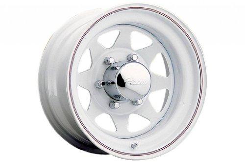 5x100 white rims - 1