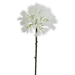 Lily Garden 17 Inch Dandelion Artificial Flowers Set of 6 1