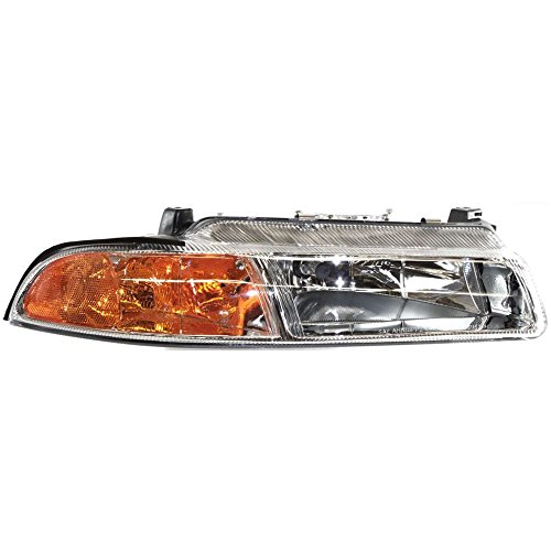 Headlight for Stratus 95-00 Right Assembly Halogen W/Improved Pattern Beam