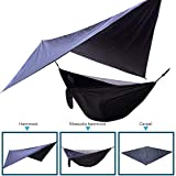 Ksruee-Camping-Hammock-with-Mosquito-Net-Set-Bug-Free-Camping-Outdoor-Hammock-Tent-for-2-PeopleReversible-Integrated-Lightweight-Ripstop-Nylon