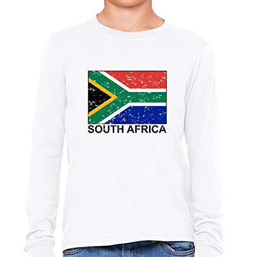 South Africa Flag - Special Vintage Edition Girl's Long Sleeve - Specials Africa South