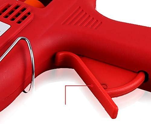 Minmin ホットメルト接着剤銃-20W、ツールミニ接着剤銃、手動接着剤銃+メルト接着剤スティック、急速加熱 - ほぼすべての子供のための大人のDIYシール修理(赤) ミニ (Color : B)