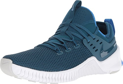 Nike Men's Free Metcon Cross Trainer Shoe (8, Blue Force/White/Monarch/Signal Blue)