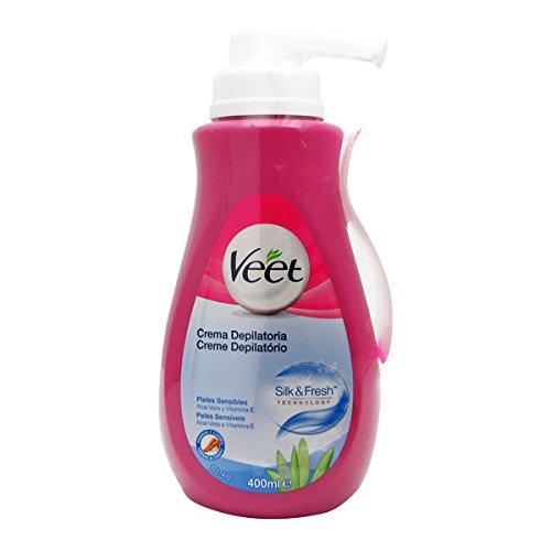 Veet Sensitive Skin Depilatory Cream 400ml