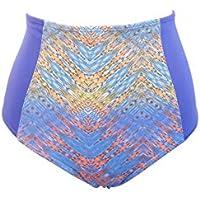 Calcinha Biquini Hot Pants Cintura Alta Etnico