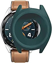 Shan-S Case for Huawei Watch GT2 46mm,Replacement Soft TPU Protection Silicone Full Case Cover Shell Frame Bum