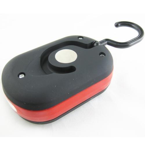 Arbeitsleuchte mit 27 LED Magnethalter Taschenlampe Werkstattleuchte Rot