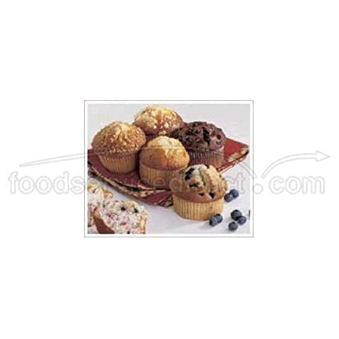 Otis Spunkmeyer Delicious Essentials Apple Cinnamon Muffin, 4 Ounce -- 24 per case. - Simply Delicious Muffins