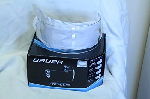 Bauer Pro Clip Straight Clear Visor