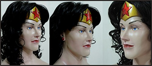 Life Size Alex Ross Deluxe Wonder Woman Superhero Statue Prop