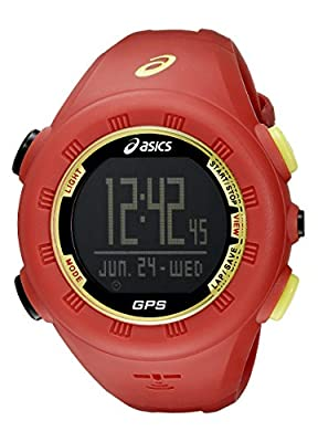 Asics Unisex CQAG0104 Red GPS Running Watch