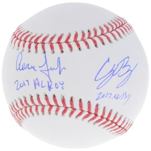 AARON JUDGE/CODY BELLINGER Dual Autographed and Inscribed
