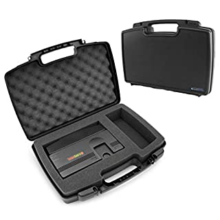 Casematix Gaming Console Protective Case Compatible with Konami TurboGrafx-16 Mini Hardware and Controller , PC Engine CoreGrafx Mini Hard Shell Carrying Case with Foam , Includes Case Only