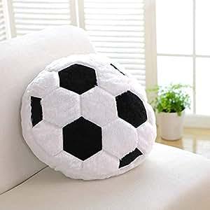 Amazon.com: Cojín creativo de pelota de fútbol con forma de ...