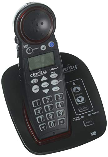 Clarity Professional C4220+ DECT 6.0 Amplified Cordless Phone with Talking Caller ID and Speakerphone