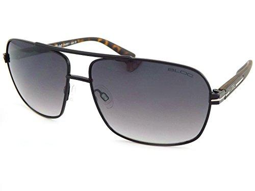 Bloc Pilot F451 Sunglasses - Matt Black / Matt Tort Grey - Graduated Sunglasses
