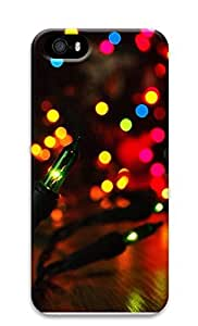 iPhone 5 5S Case Christmas Light 3D Custom iPhone 5 5S Case Cover