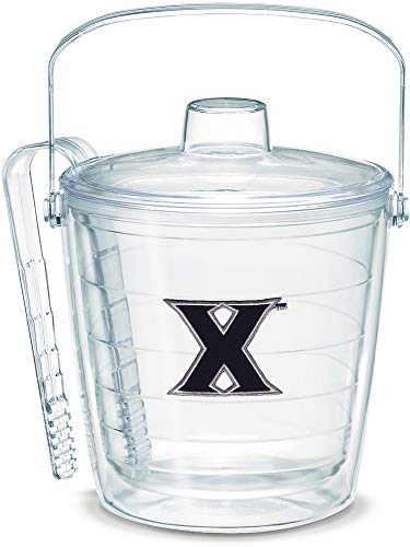 Tervis 1049934 Xavier Musketeers Logo Ice Bucket with Emblem and Clear Lid 87oz Ice Bucket, Clear]()