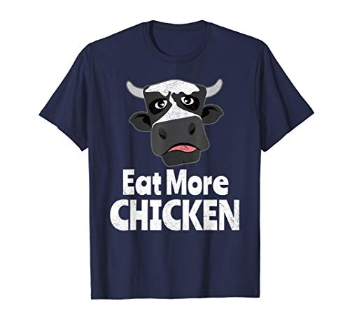 Funny Cow Eat More Chicken For Men Or Women Gift ()
